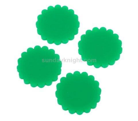 round acrylic circles
