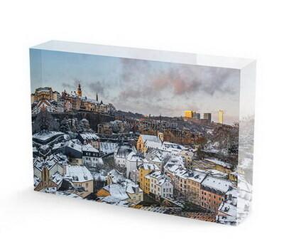 SKCA-072-2 Custom acrylic photo block acrylic prints wholesale