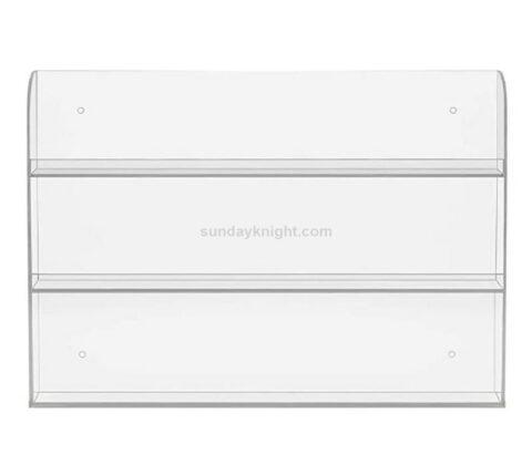 SKMD-430-3 Custom Clear Acrylic Nail Polish Wall Rack Display Holder