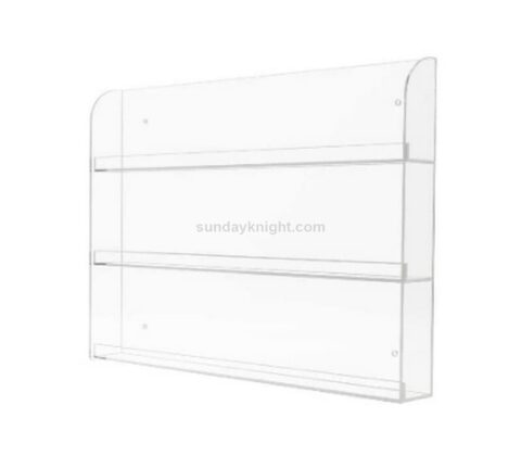 Custom Clear Acrylic Nail Polish Wall Rack Display Holder