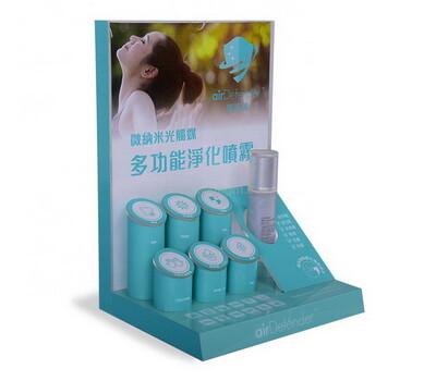 Custom cosmetic display stands makeup display