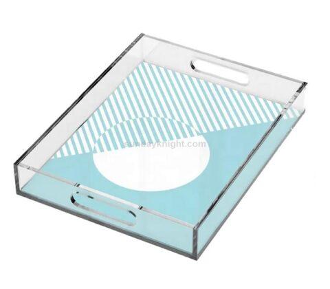 SKAT-134-2 Personalized Custom Printed Pattern Acrylic Decorative Tray