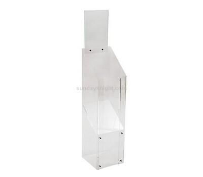 Floor standing Acrylic Magazine Display Holder Stand
