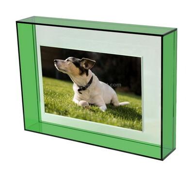 Modern design colored acrylic decorative photo frame