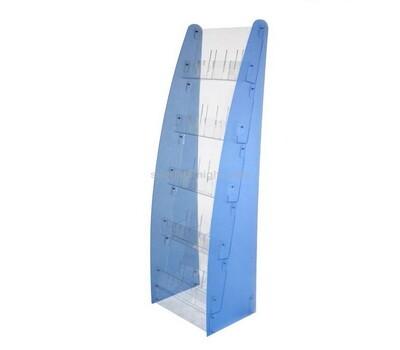 Custom acrylic brochure rack freestanding