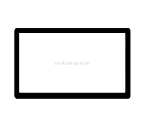 SKOT-386-2 Custom acrylic bezel monitor frame