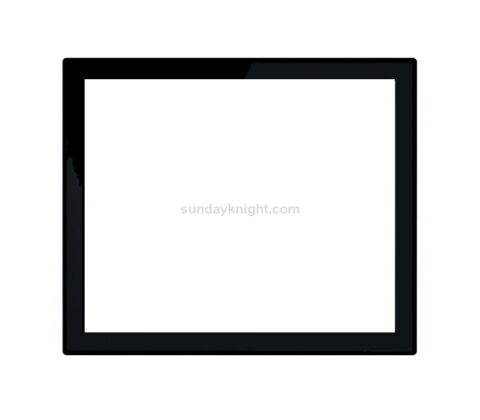 SKOT-386-3 Custom acrylic bezel monitor frame