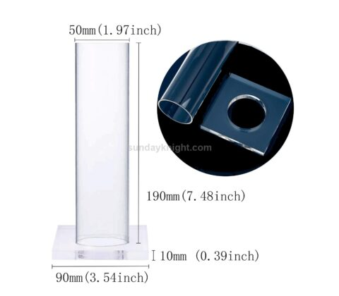 SKJD-191-1 Clear Acrylic Scrunchie Holder Stand Scrunchy Organizer Display