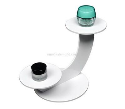 Custom acrylic skincare display stands